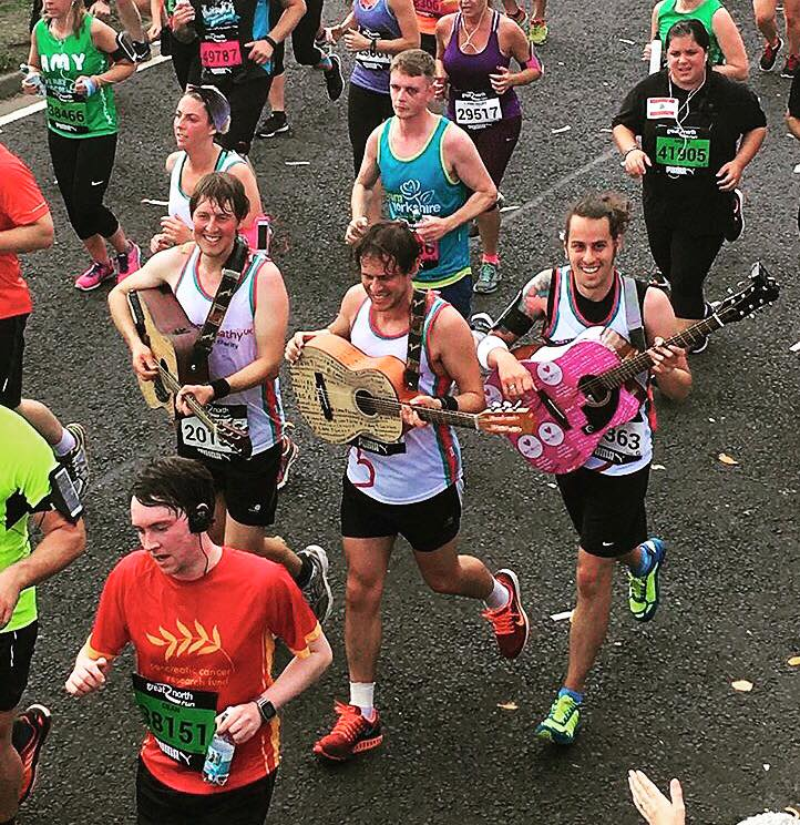 Little Comets play a gig around The Great North Run for Save9Lives.