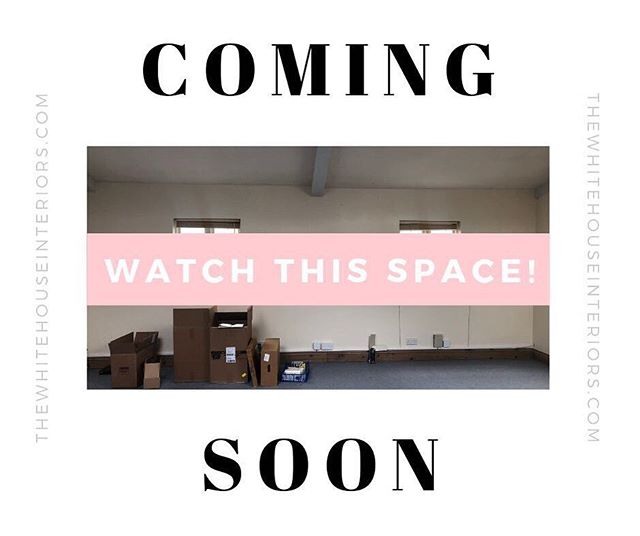 Watch this space...... The White House Interiors is opening its first showroom in Leighton Buzzard town centre.  You will be able to shop the collection, our designer edit of exclusive furniture, homeware and accessories, plus we are offering co-working spaces and will be running fun workshops and events throughout the year 🤗 . . . . #interiorshowroom #leightonbuzzard #showroom #retailshop #lifeofadesigner #interiorstyling #interiordecoration #designlovers #interiorlovers #interiordesigner #designporn #decorating #interiordetails #homeinterior #designing #interiordesignideas #homestyling #interiorstyling #designlife #interiorinspiration #instahome #instadesign #interiordesire #designideas #interiorforinspo #interiorandhome