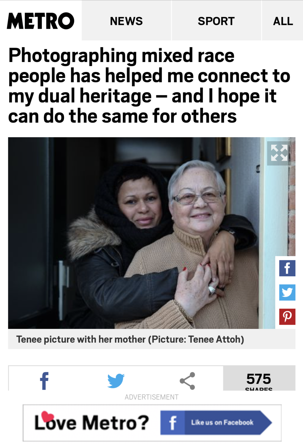 - https://metro.co.uk/2018/10/21/photographing-mixed-race-people-has-helped-me-connect-to-my-dual-heritage-and-i-hope-it-can-do-the-same-for-others-7896393/