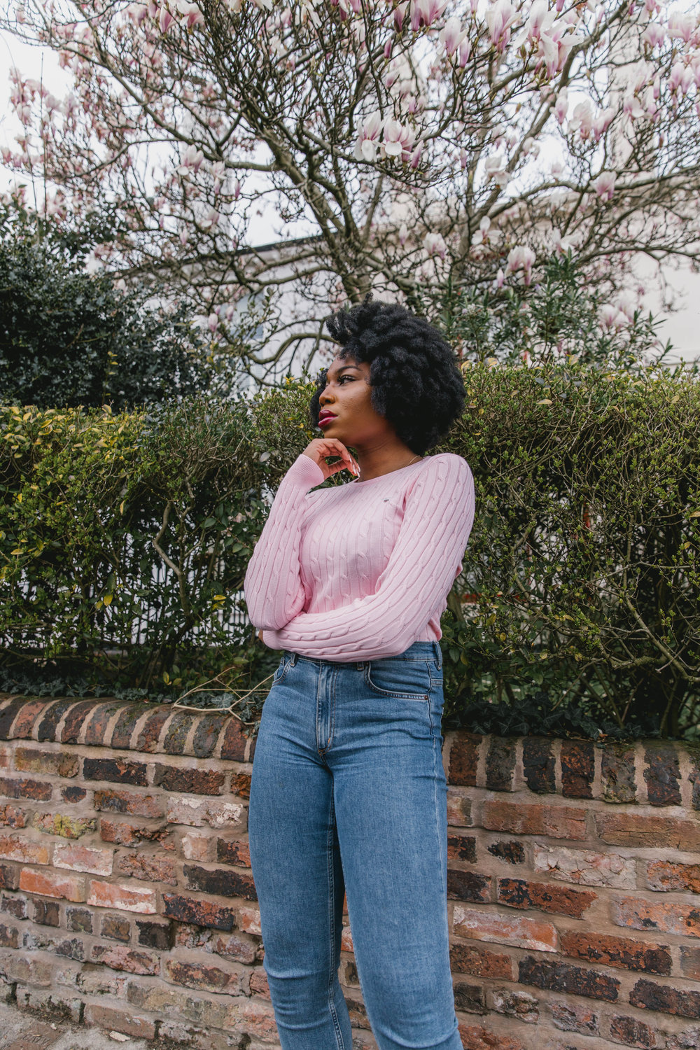 GANT Cotton Cable Knit Sweater - Spring Capsule Wardrobe