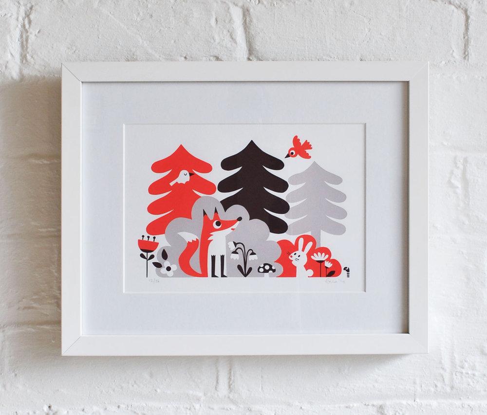 framed foxy.jpg
