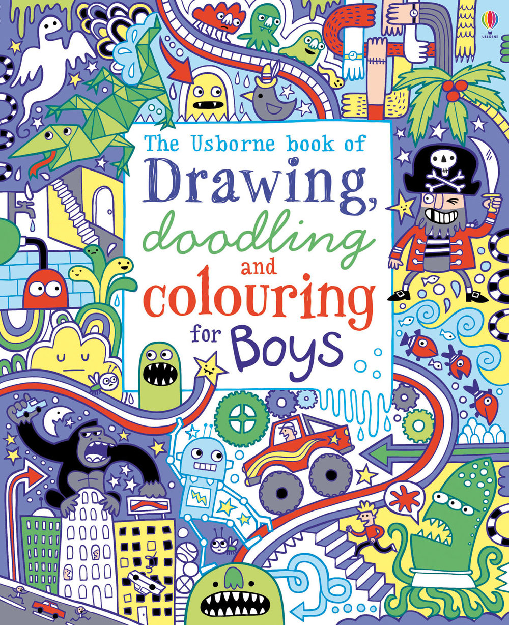 Drawing, doodling and colouring for Boys.jpg