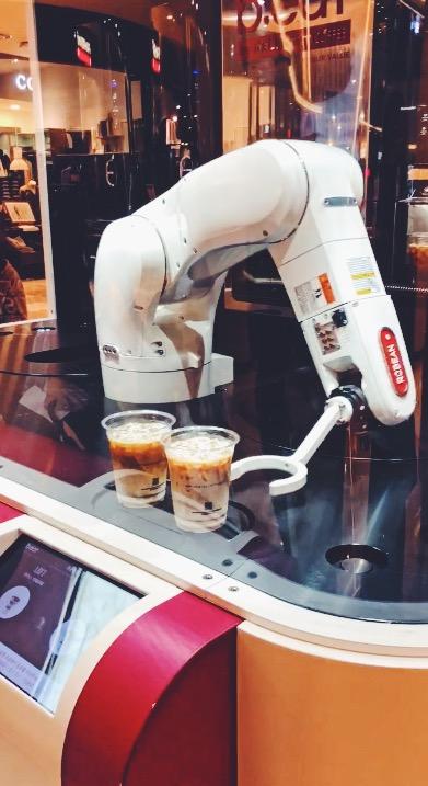 Robot Barista @SeoulTowerLotteMall