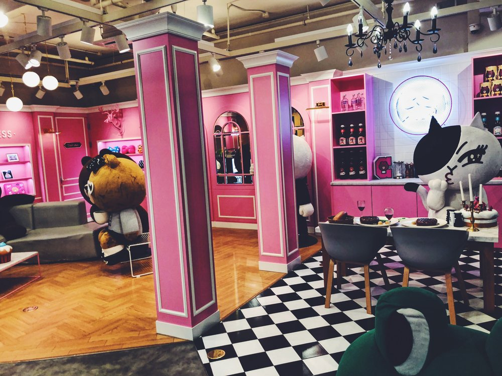 @LineFriends Flagship Cafe