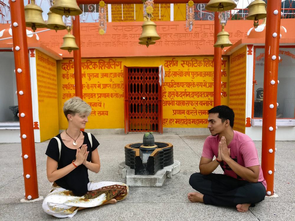 Ausflug zum Booht Nath Tempel 2