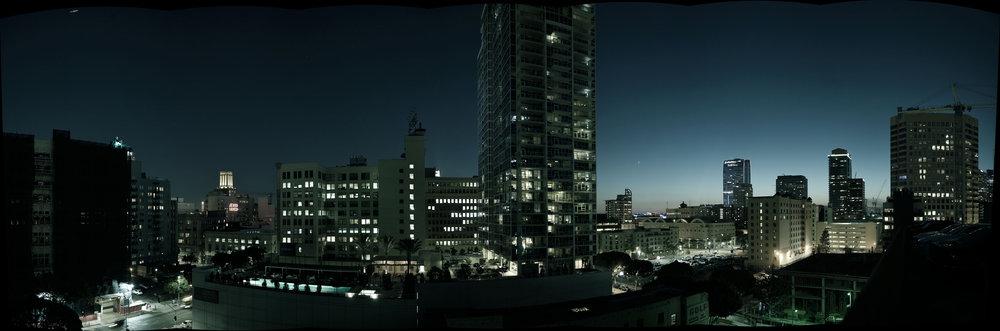 Panoramic 9-stop HDR. (original resolution 15k x 5k)