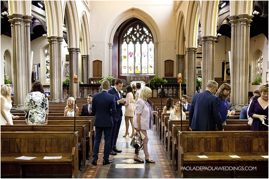 Kate & Tim's London wedding