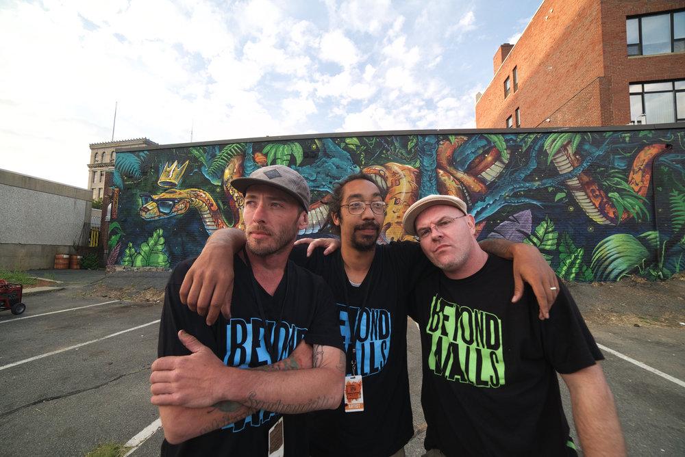 Team Rekloos: Brian Life, Brand Rockwell & Raodee