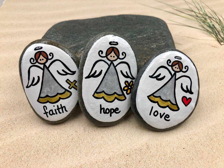 Harmony Faith NEW Charity ANGEL Lucky Charm Peace Hope Love