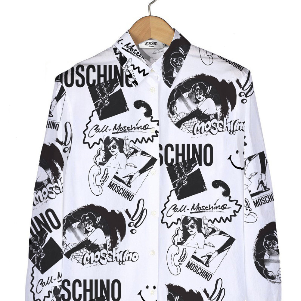 Moschino concept. Definitely can see this working in a wallpaper format (not necessarily for Moschino)