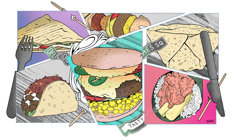 New York's Street Food - TIME OUT Magazine - Quintessential example of 'Phase 3'