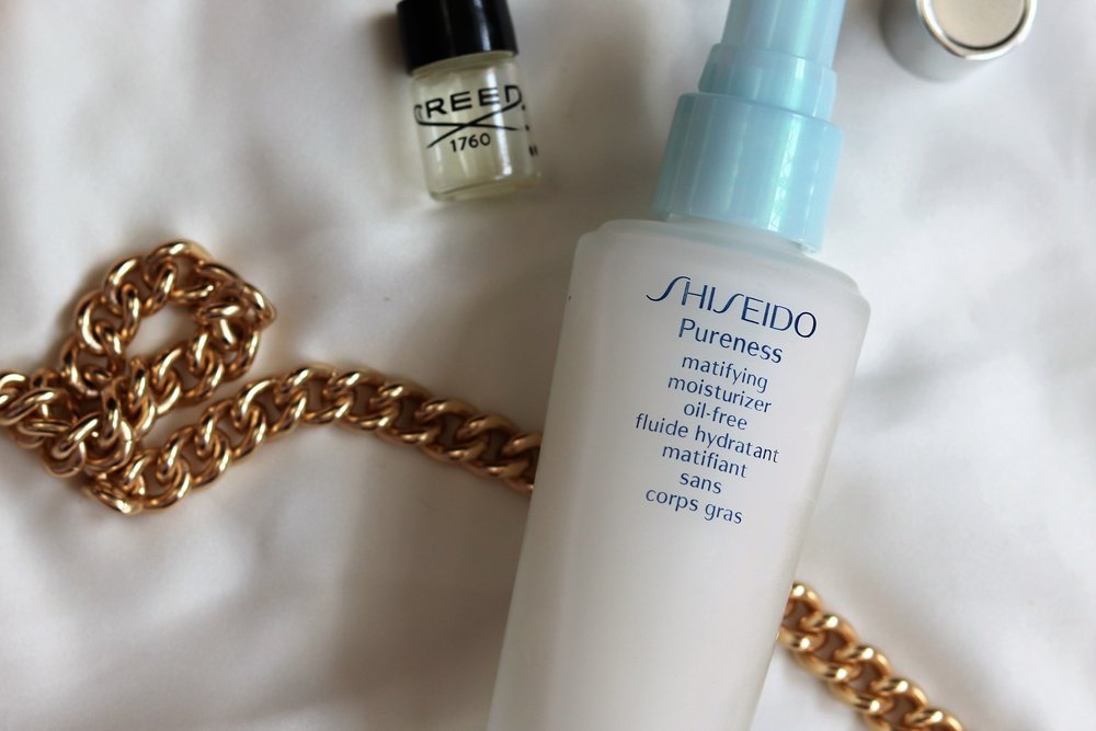 Shiseido - Pureness Matifying MoisturizerI have heard great things about this brand so when I found this and read