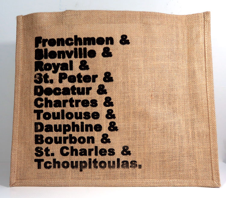 Jute Tote Bag - by Man of Creation