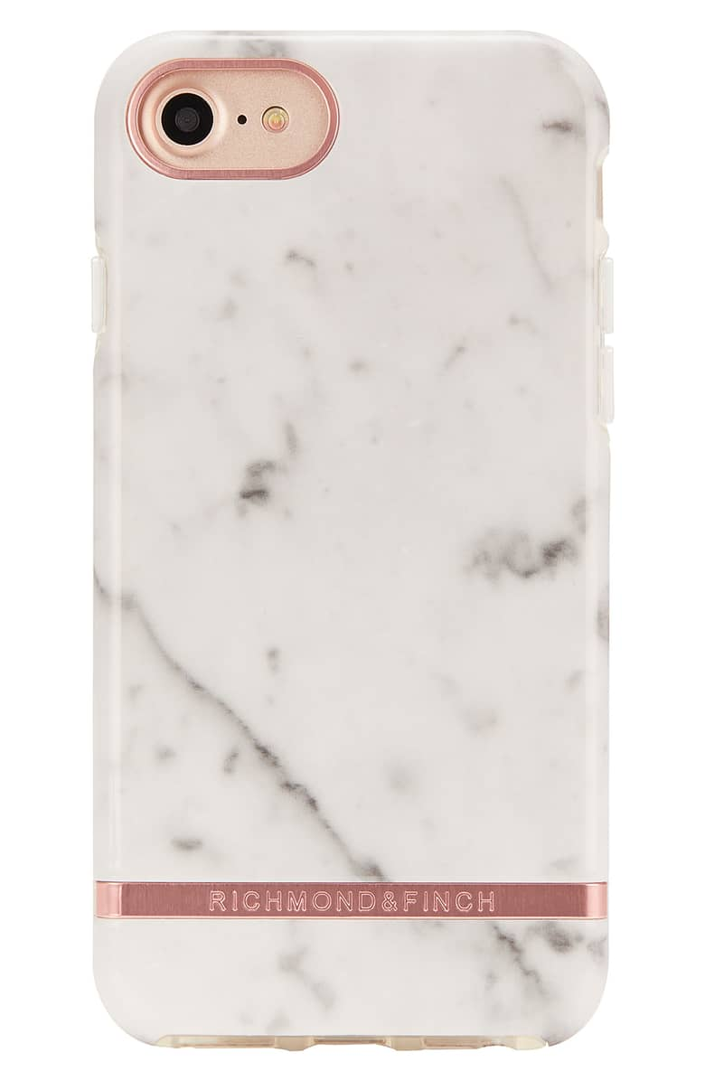 Marble Print iphone case - Richmond & Finch