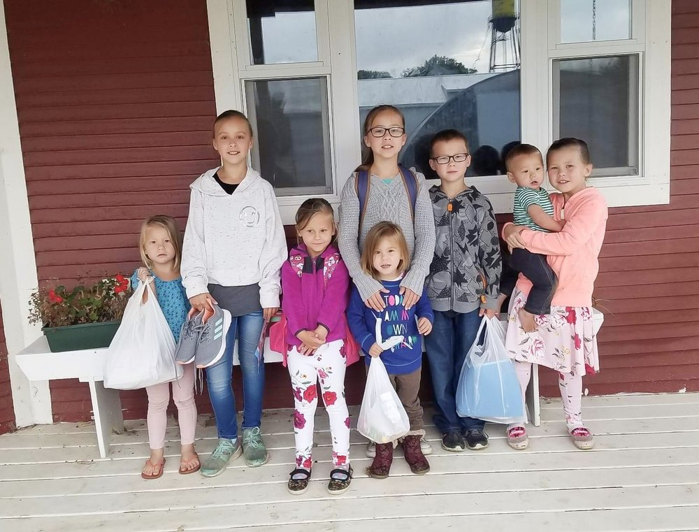 Here are my eight children! Try guess who is who!