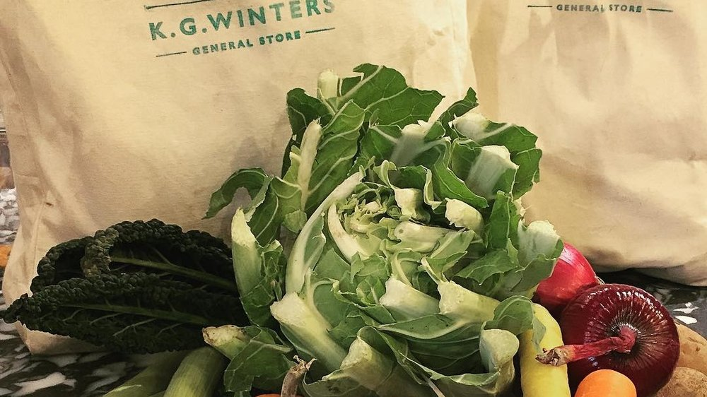 VEG BAGS - Seasonal veg bags are delivered throughout the Thanet area every week.
