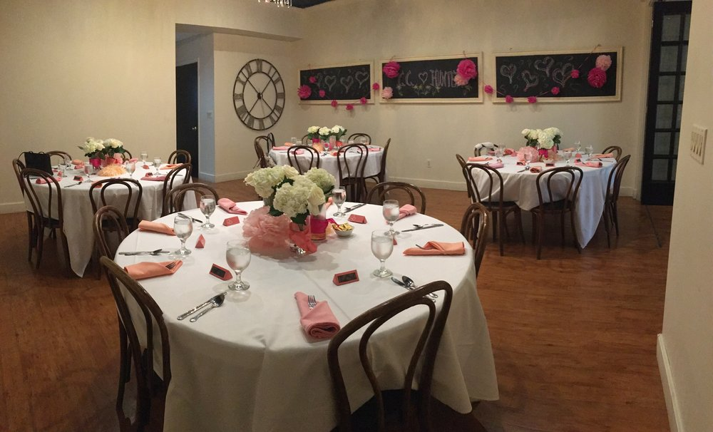 4 table set up shower with chalkboard.JPG