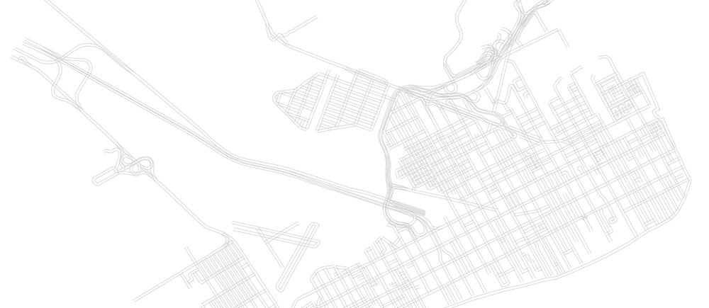 Atlantic City's neighborhoods were mapped as part of the risk terrain modeling process. Source: GIS