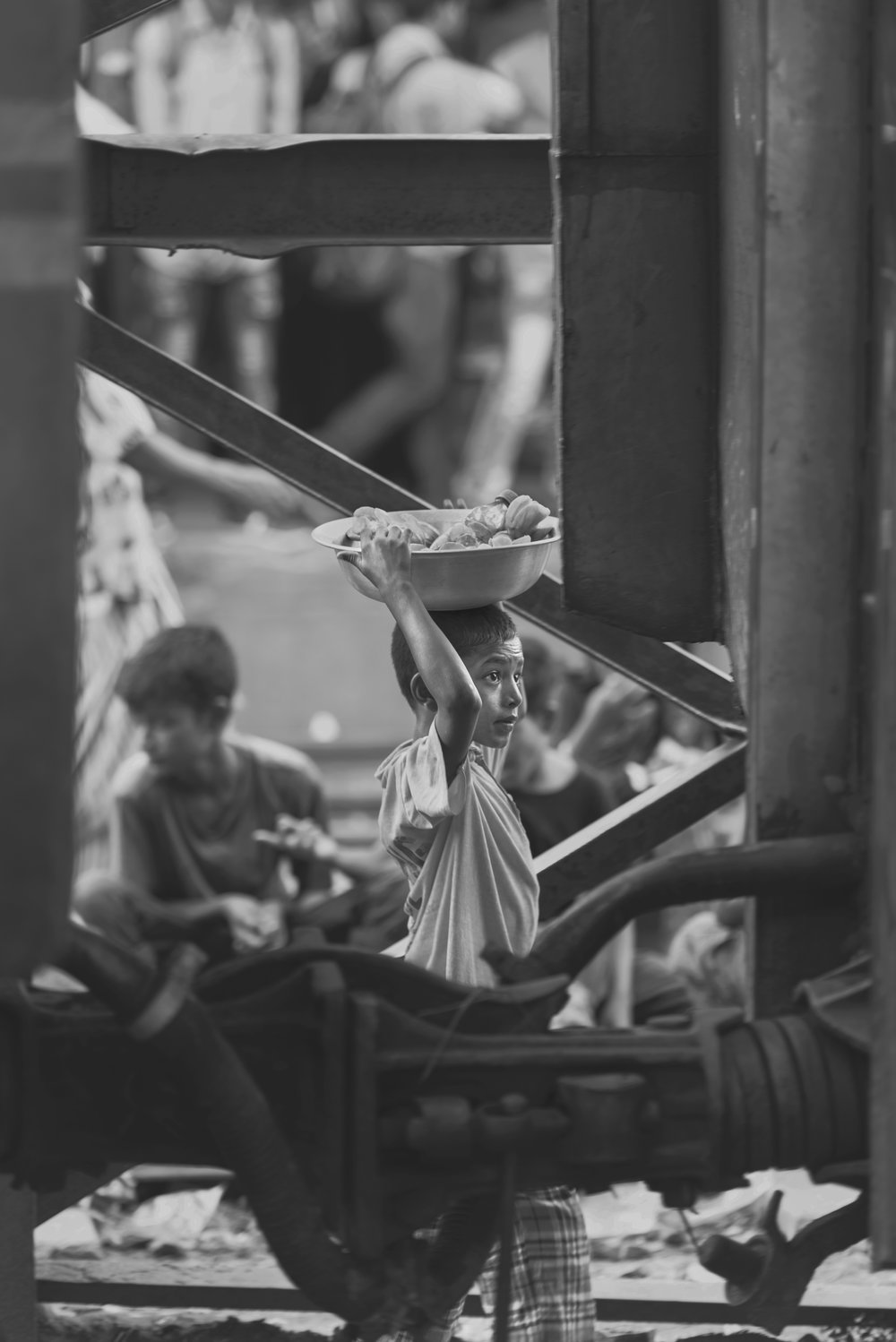 Slum communities face forcible removal, which also makes health follow-ups difficult. Source: Asif Aman via Unsplash