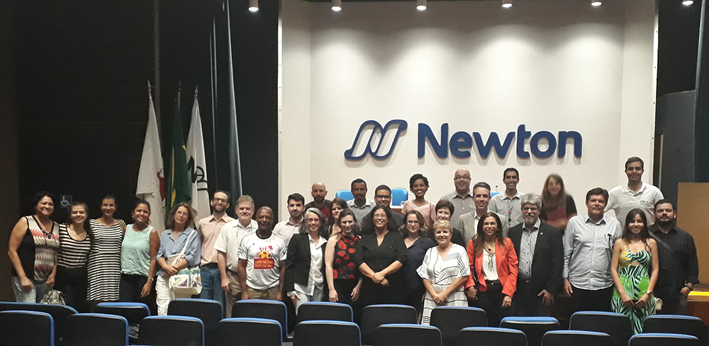 Participants of the workshop held October 8 in Belo Horizonte. Source: Cid Blanco