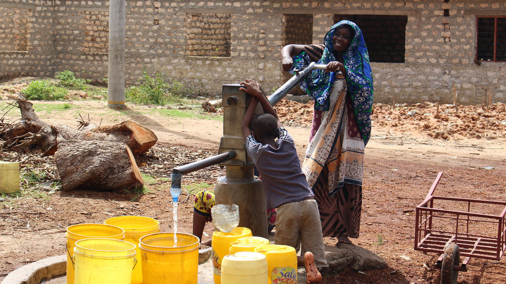 Using the Smart Handpump.    Source   : OxWater via Flickr