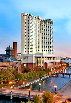 Baltimore Marriott Waterfront Outside
