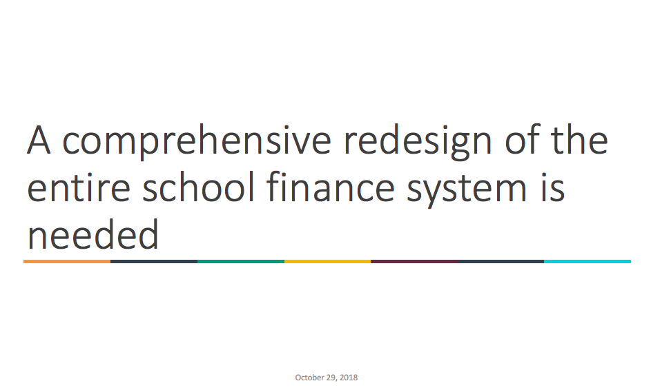 Abbott School Finance Presentation