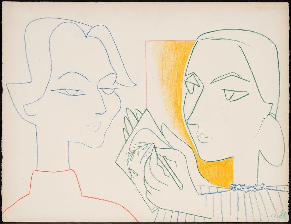 Claire's Portrait IV (1953)