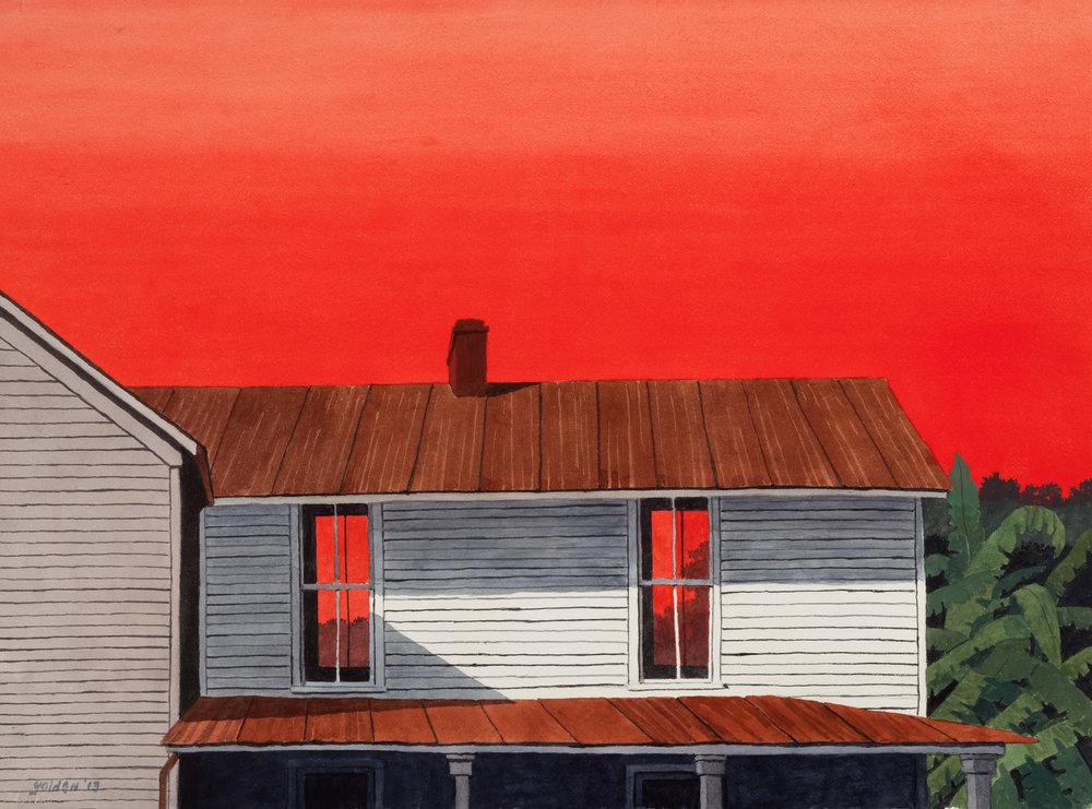 Fiery Sunset III (2013)
