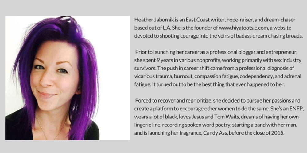Heather bio