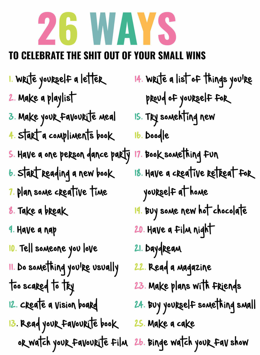 26 Ways To Celebrate The Shit Out Of Your Small Wins - That Hummingbird Life.jpg