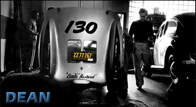 Hawthorne California-- James Dean at the Garage