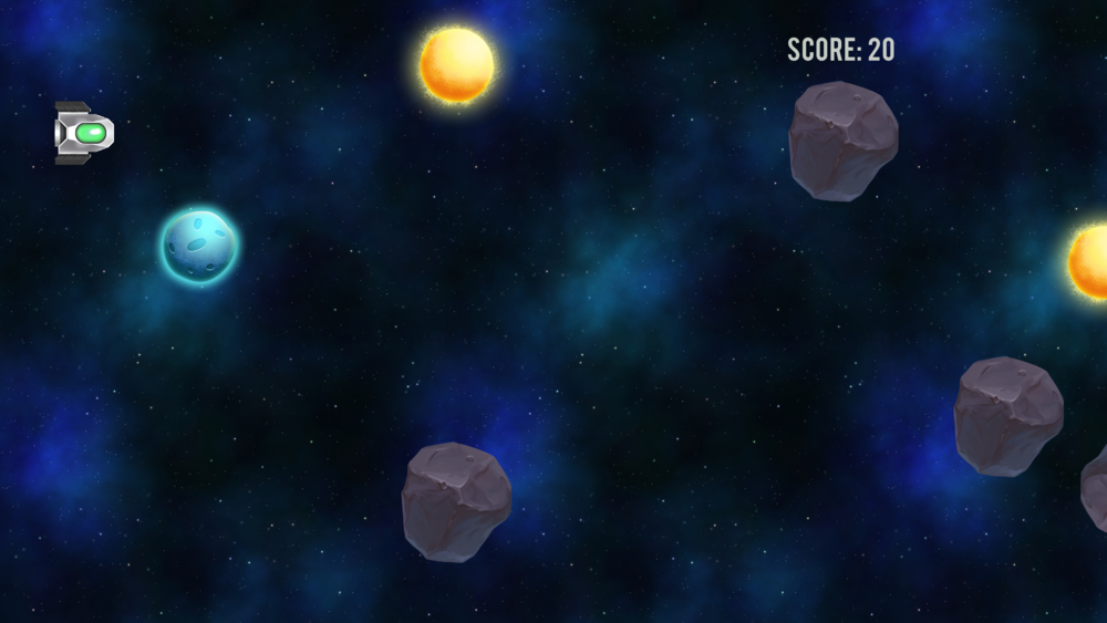 Spacelapse - 2d Space Shooter