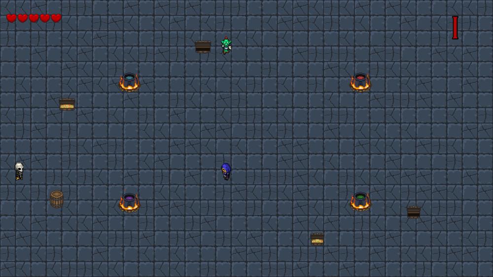 Memento Mori - Round based 2d Isometric Game