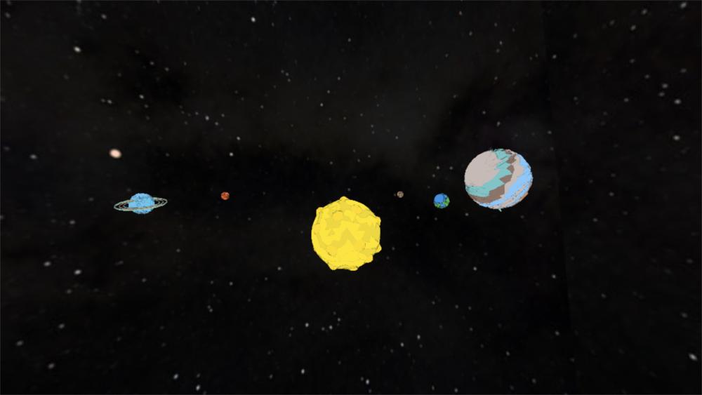 HeliosG2V - 3D Solar System