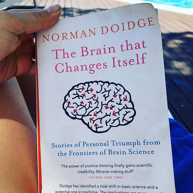 Fantastic book - if you are interested in a non fiction read. This one gets you so inspired to change and help others on the way  #normandoidge #brainplasticity #newlearnings