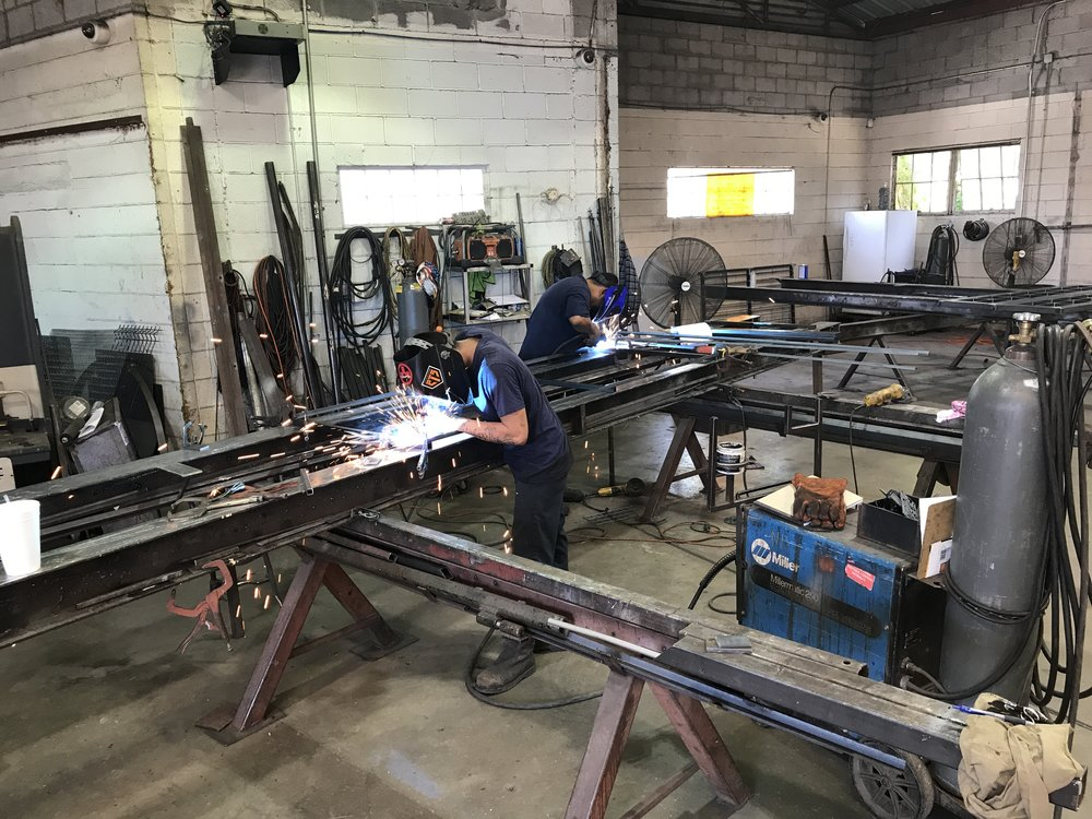 Fabrication    - You dream it, we fabricate it.