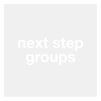 "Following Jesus happens best with others. Any friend group, school group, organization etc. that connects you with taking next steps with Jesus is a ""next step group."" Your Fall Wknd group may be a 'Next Step Group' for you."