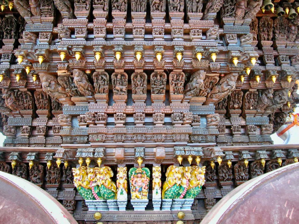 Temple Car, Chettinad