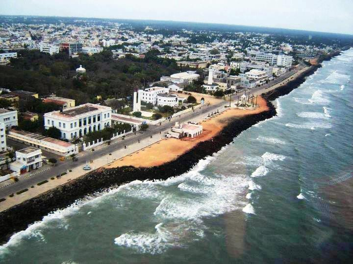 Overview of Pondicherry Promenade