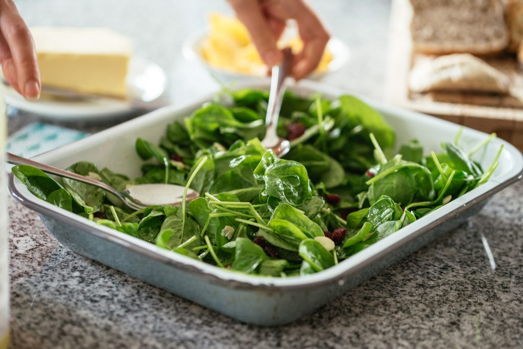 Greens for lunch!