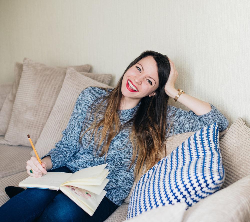 Life Coach and Illustrator, Emma Lou