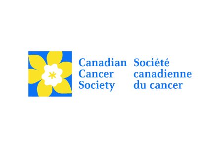 Logo for the Canadian Cancer Society.