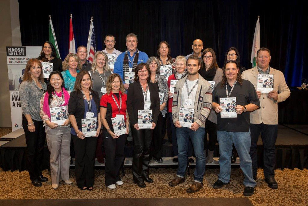 NAOSH Week 2015 BC Honorable Mention Award Winners