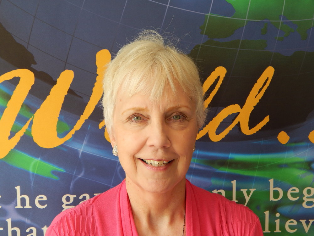Linda Wirth - Director of DecorationsLinda's artist eye is seen throughout FCF. Whether it's a painting she just finished, a cool banner on the altar, or holiday decor, Linda always has the building looking sharp!Favorite Scripture: