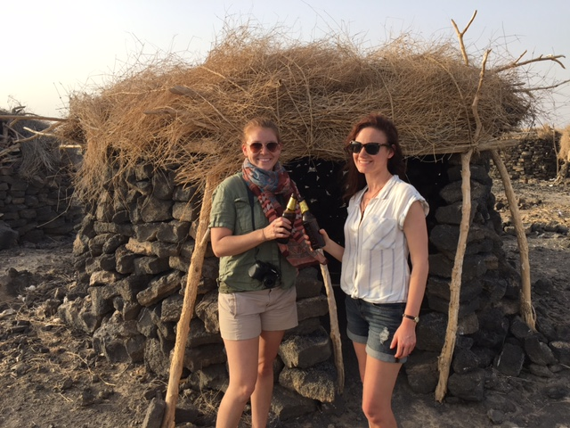 Jessica Parker and Monica McCarthy in Afar, Ethiopia