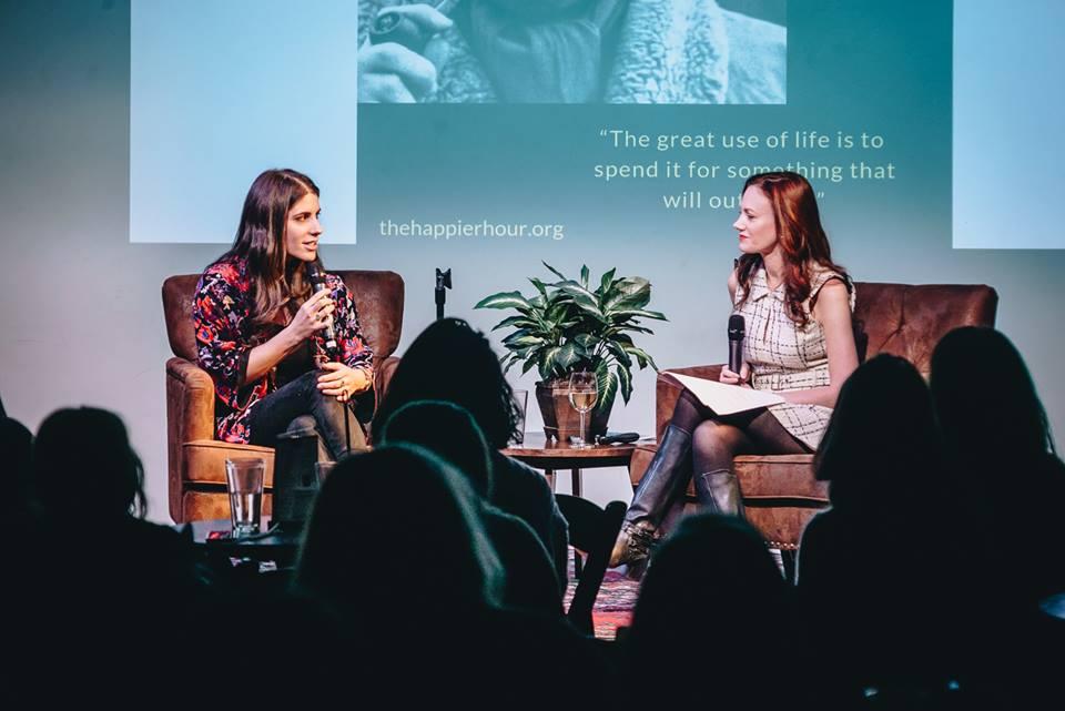 Olivia Goldhill and Monica McCarthy / Photo by Rodrigo Lizarraga