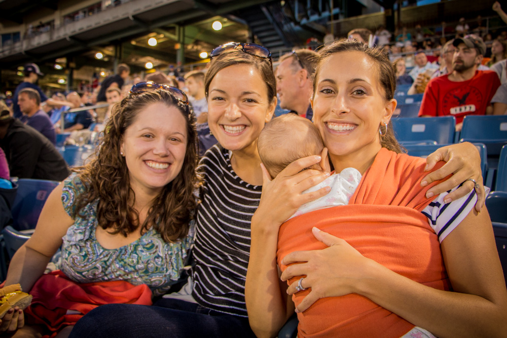 Young Adult Ministry Night Out at the Syracuse Chiefs Game
