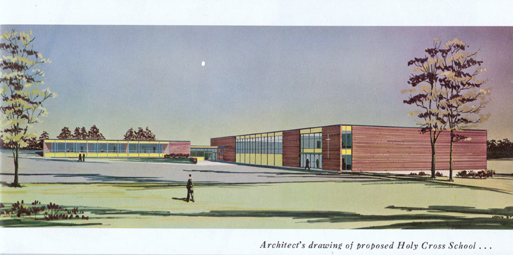 Architect's Drawing of School