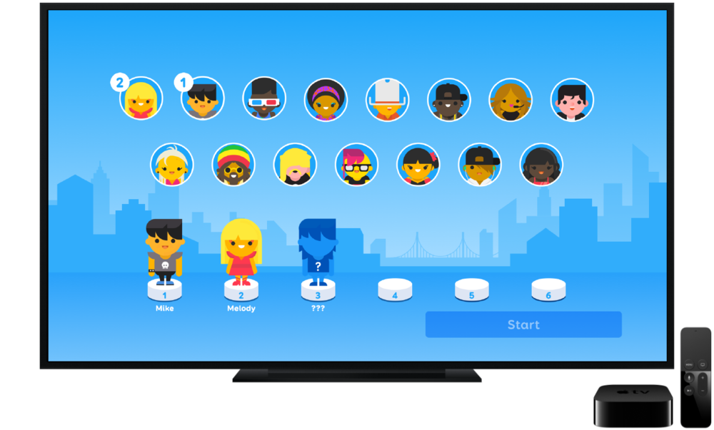 So many ways to play - Use the SongPop Party iOS app on an iPhone, iPad or iPod Touch or MFI game controller to play with up to six people at the same time.
